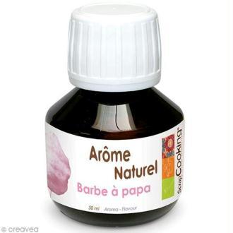 Arôme alimentaire naturel Barbe à papa 50 ml
