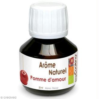 Arôme alimentaire naturel Pomme d'amour 50 ml