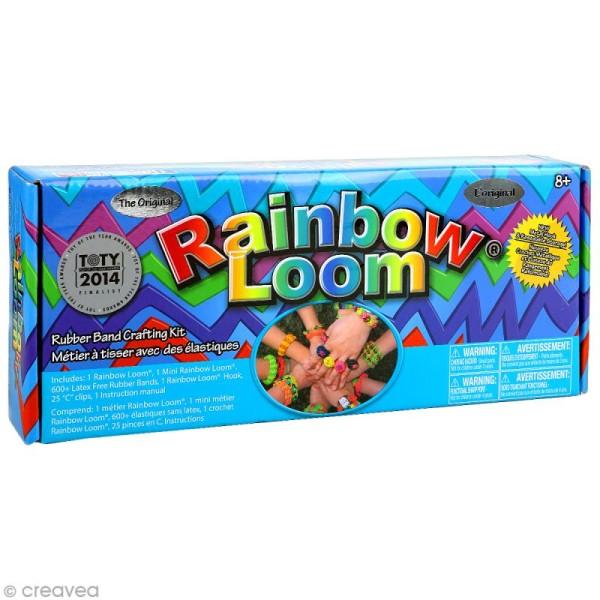 Rainbow loom - Kit de démarrage - Photo n°1