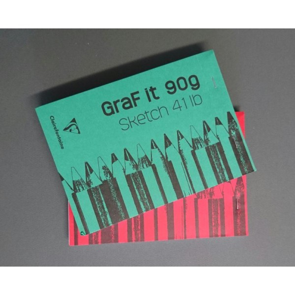 Graf it 90g Clairefontaine - Photo n°1