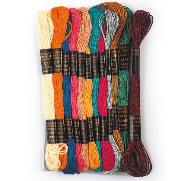coton pour bracelet bresilien