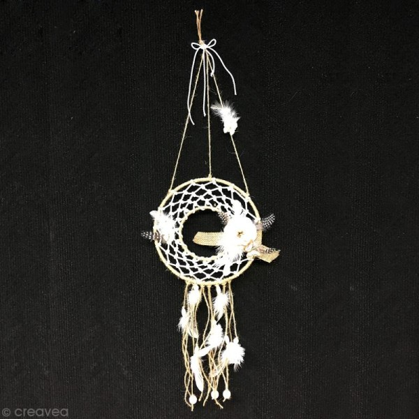 Plumes Indien Blanc - 15 cm - 10 gr - Photo n°3