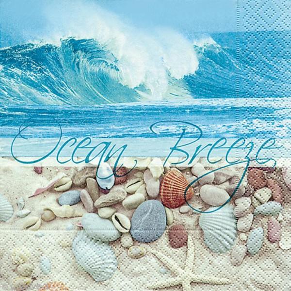Serviette en papier Mer - Plage et océan - Photo n°1