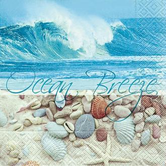 Serviette en papier Mer - Plage et océan