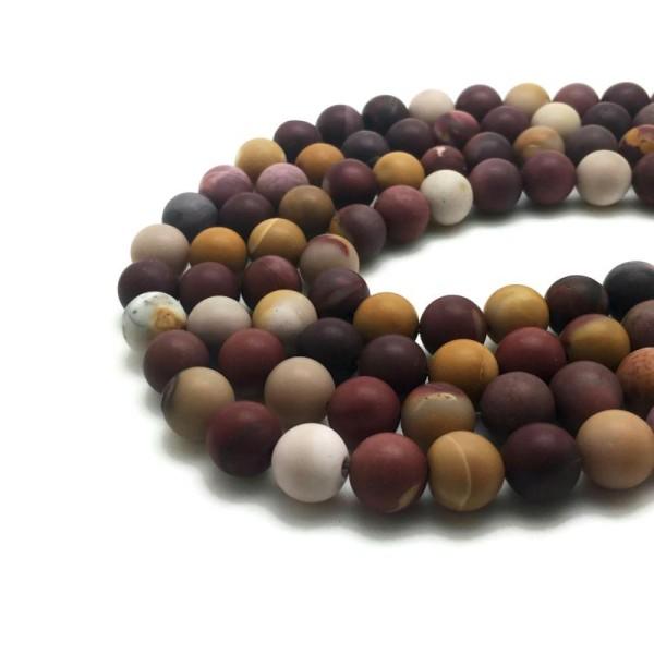 pcs givré pierres À faire soi-même Fabrication De Bijoux Améthyste Perles rondes violet 10 MM 32