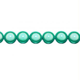 10x perles Magiques Rondes 10mm VERT D'EAU