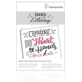 Hand lettering A5 Hahnemuhle