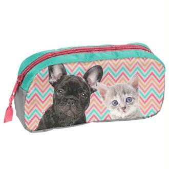 1 Fourre-tout rectangulaire  - Comme chien et chat