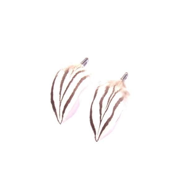 Faisan Argenté : Paire de pendentifs 5,2 CM de hauteur environ - Photo n°1