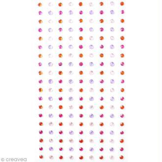 Assortiment strass adhésifs Amour - 3 mm - 171 pcs