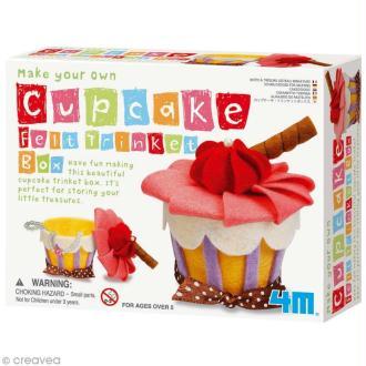 Kit feutrine - Boîte cupcake