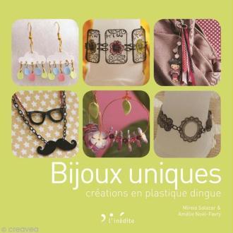 Livre Bijoux uniques créations en plastique dingue