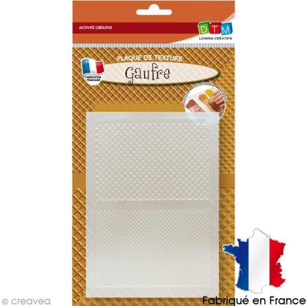Plaque de texture motifs Gaufre - Photo n°1