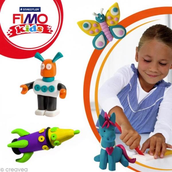Pâte Fimo Kids Jaune 1 - 42 gr - Photo n°2