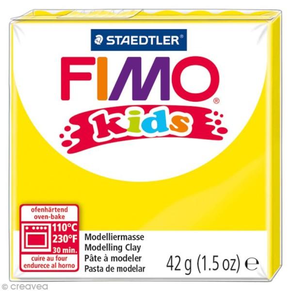 Pâte Fimo Kids Jaune 1 - 42 gr - Photo n°1