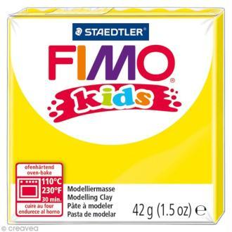 Pâte Fimo Kids Jaune 1 - 42 gr