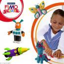 Fimo Kids Jaune 1 - 42 gr - Photo n°2