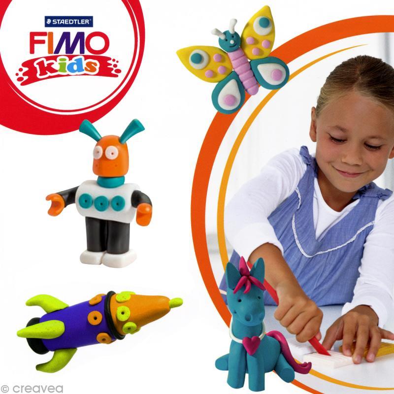 Fimo Kids Orange 4 - 42 gr - Photo n°2