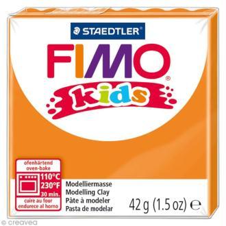 Pâte Fimo Kids Orange 4 - 42 gr