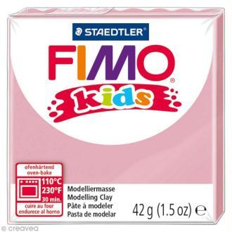 Pâte Fimo Kids Rose 25 - 42 gr
