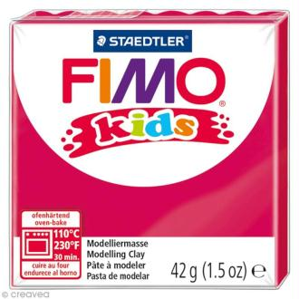 Fimo Kids Rose fuchsia 220 - 42 gr