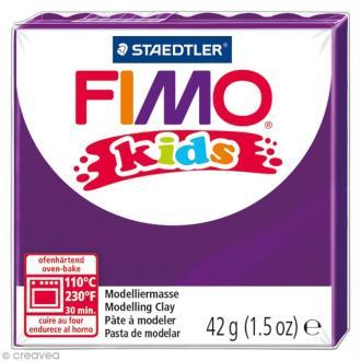 Pâte Fimo Kids Violet 6 - 42 gr