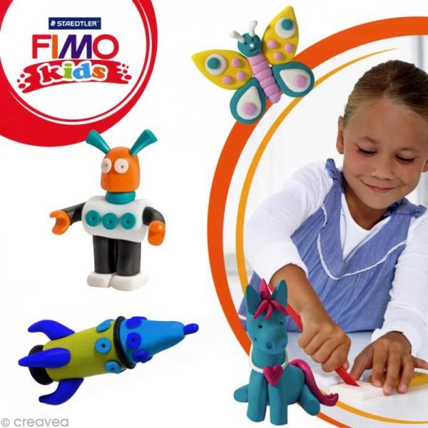 Pâte Fimo Kids Bleu 3 - 42 gr - Photo n°2
