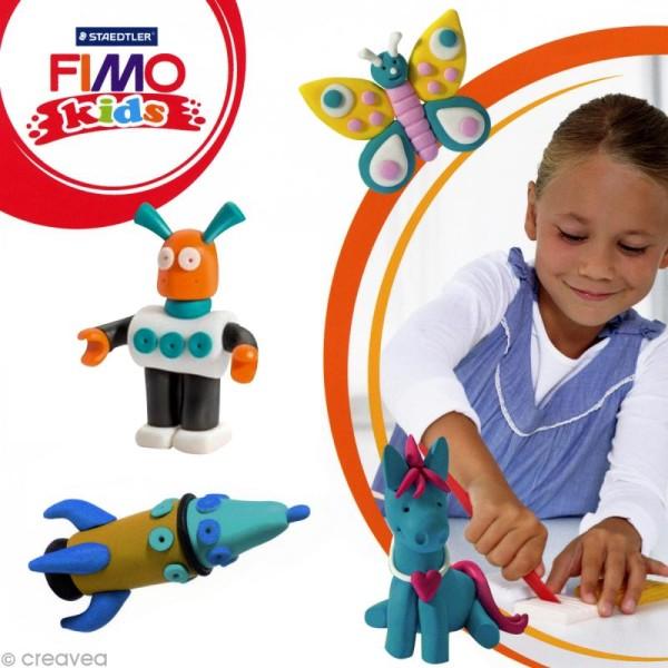 Pâte Fimo Kids Bleu turquoise 39 - 42 gr - Photo n°2