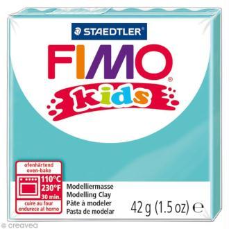 Fimo Kids Bleu turquoise 39 - 42 gr