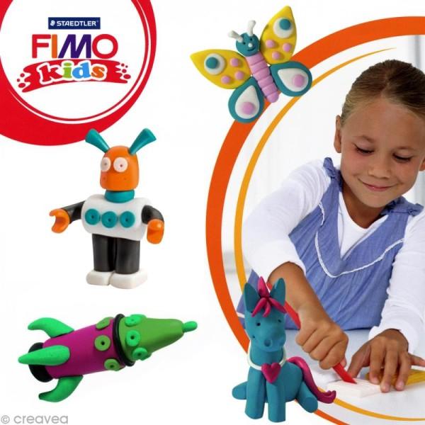 Pâte Fimo Kids Vert 5 - 42 gr - Photo n°2