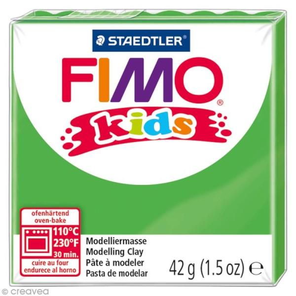 Pâte Fimo Kids Vert 5 - 42 gr - Photo n°1