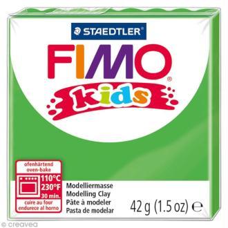 Pâte Fimo Kids Vert 5 - 42 gr