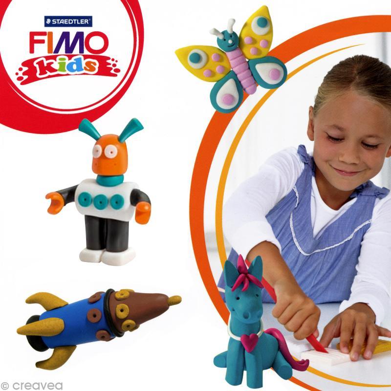 Fimo Kids Marron 7 - 42 gr - Photo n°2