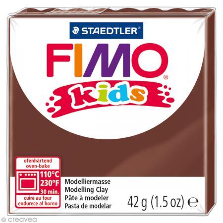 Fimo Kids Marron 7 - 42 gr - Photo n°1
