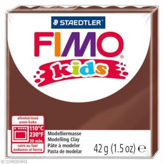 Pâte Fimo Kids Marron 7 - 42 gr