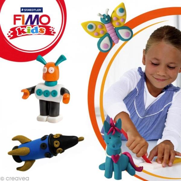 Pâte Fimo Kids Noir 9 - 42 gr - Photo n°2