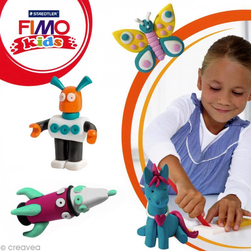 Fimo Kids Blanc pailleté 052 - 42 gr - Photo n°2