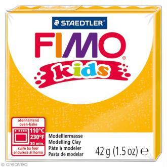 Pâte Fimo Kids Or pailleté 112 - 42 gr