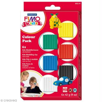 Kit Fimo Kids garçon - Assortiment de 6 pains