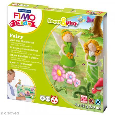 Kit Fimo Kids fille - Fées - niveau difficile - Photo n°1