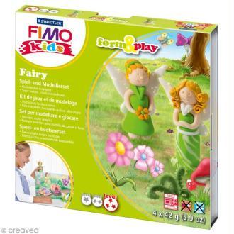 Kit Fimo Kids fille - Fées - niveau difficile
