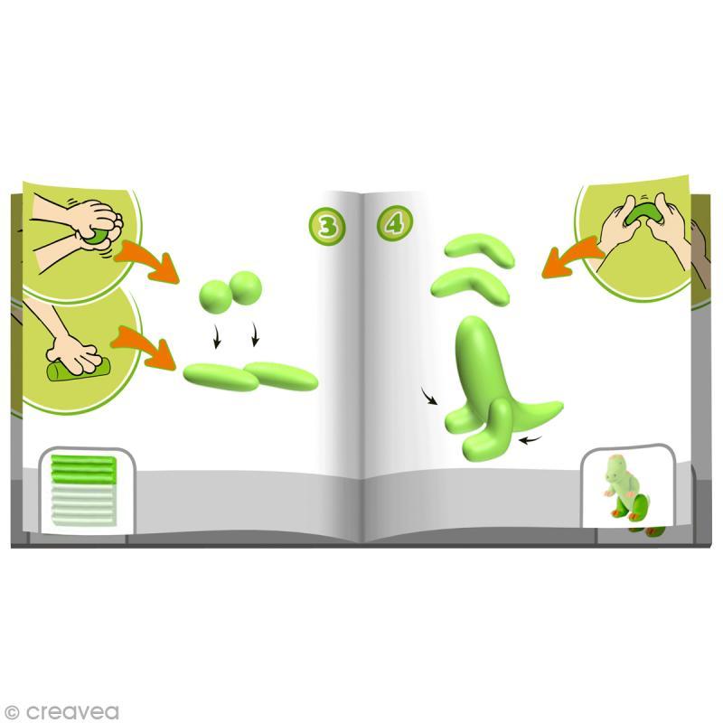 Kit Fimo Kids - Animaux de la ferme - niveau facile - Photo n°3