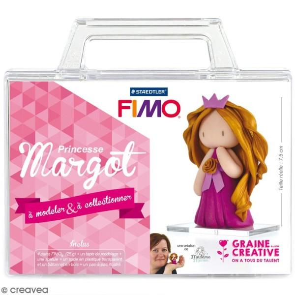 Kit figurine Fimo - Princesse Margot - Photo n°1
