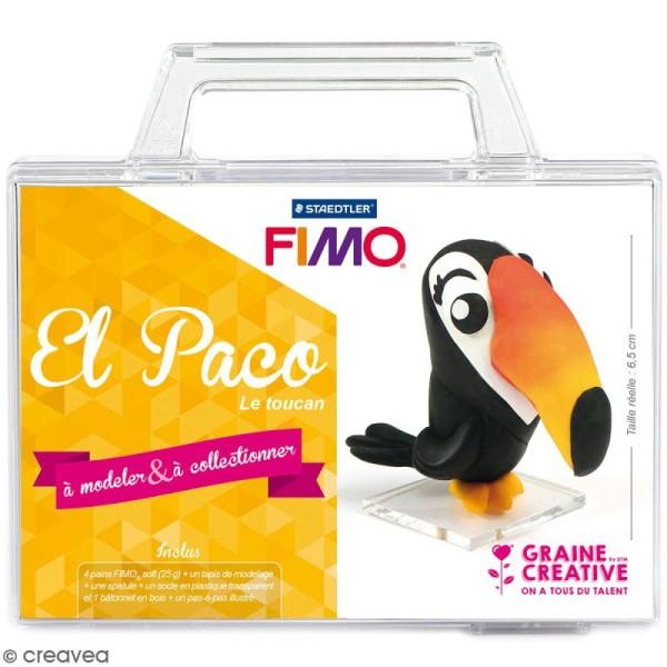 Kit figurine Fimo - El Paco le toucan - Photo n°1