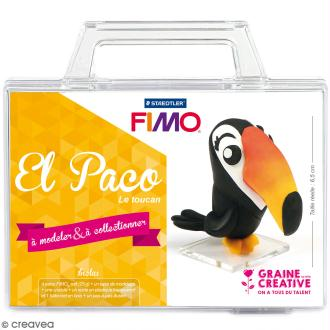 Kit figurine Fimo - El Paco le toucan
