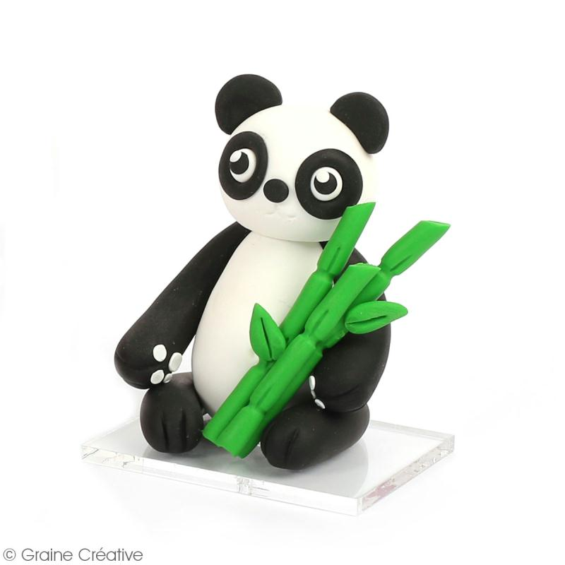 Kit figurine Fimo - Tao le panda - Photo n°2