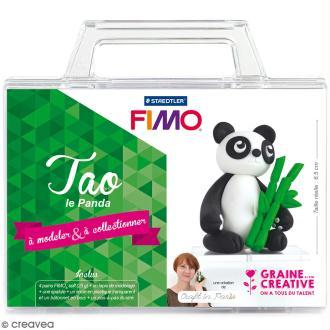 Kit figurine Fimo - Tao le panda