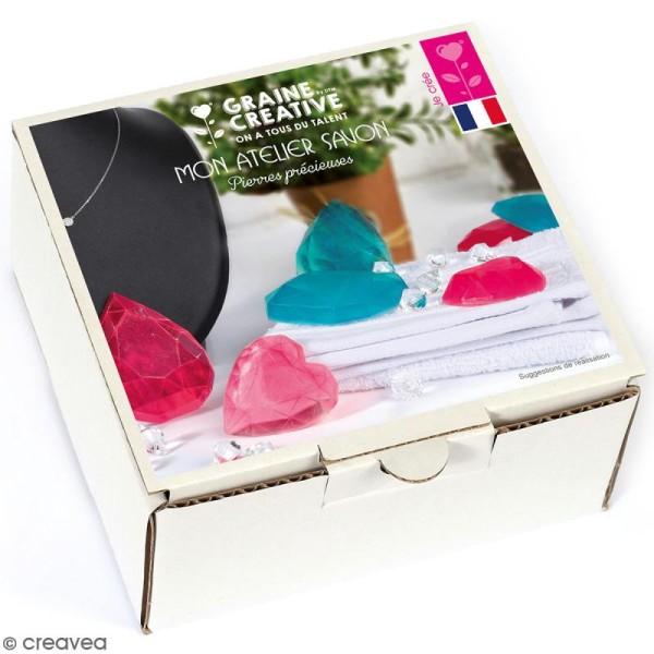 Kit Mon atelier savon - Pierres précieuses - Photo n°1