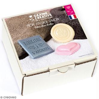 Kit Mon atelier savon - Savons d'antan