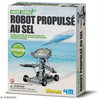Kit Green science - fabrique un Robot propulsé au sel